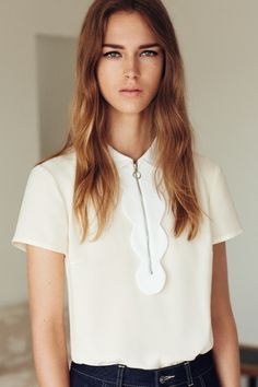 Claudie Pierlot - La touche d'Agathe - Boots et Caracos - wear - dressing - style - montres bague ring haut white blanc