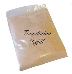 Check out this item in my Etsy shop https://www.etsy.com/listing/176350237/xl-size-foundation-refillmineral-makeup