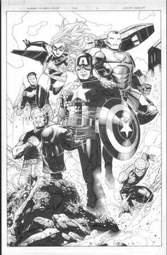 Avengers: Children's Crusade 4 pg 12 by MarkMorales.deviantart.com on @DeviantArt