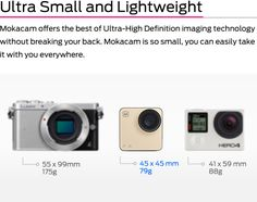 Mokacam - The Worlds Smallest 4K Camera | Indiegogo