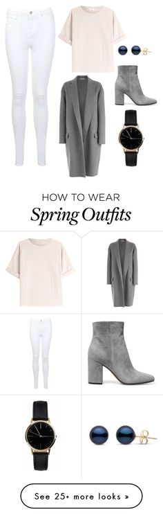 """""""Spring Tumblr Girly Outfit"""" by anna-erdtmann on Polyvore featuring Brunello Cucinelli, CÉLINE, Gianvito Rossi, Miss Selfridge and Freedom To Exist"""