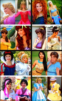 The Disney girls