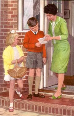 On Friday I found an old Ladybird Peter and Jane  book. As soon as I opened it…