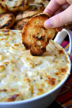 Sweet Vidalia Onion Dip This is my new go-to dip for parties, holidays, and romantic dinners...it's creamy, cheesy, and bursting with sweet onion flavor!