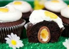 Easter Creme Egg #Cupcake Recipe