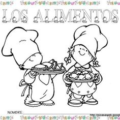 PROYECTO LOS ALIMENTOS Mini Chef, Cute Kids, About Me Blog, Snoopy, Comics, Fictional Characters, Art, Homeschool, Facebook