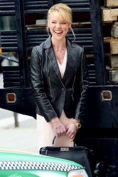 Katherine Heigl wearing Ippolita Rosé necklace and earrings in State of Affairs | www.goldcasters.com