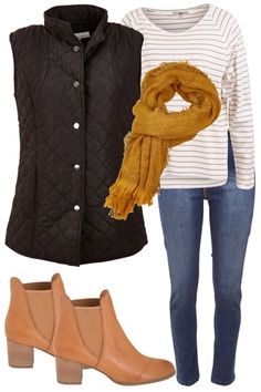 Rug Up Outfit includes Threadz, JAG, and bird keepers - Birdsnest Australia Vest Outfits, Mom Outfits, Cute Outfits, Fashion Outfits, Women's Fashion, Casual Fall Outfits, Fall Winter Outfits, Casual Winter, Women's Casual
