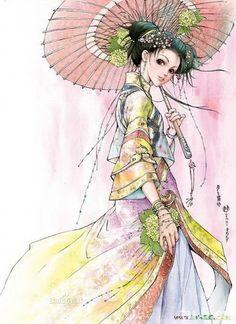 Ilustrações por Li kun | Cuded