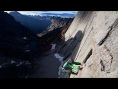 Mason Earle climbs Cirque of the Unclimbables - YouTube | Eddie Bauer #LiveYourAdventure