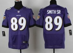 nike baltimore ravens 89 steve smith sr 2013 purple elite jersey