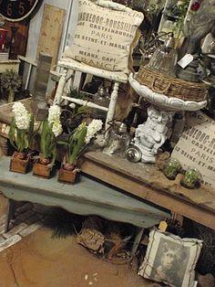 Round Barn Potting Company: dreaming garden chic ~ Barn style