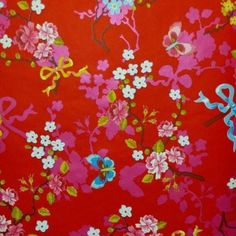 PI43 - Eijffinger PIP studio Chinese Rose rood