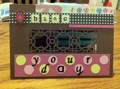 #Homemade Birthday Card for Her - Outside