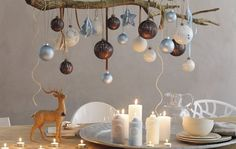 DIY Holiday Decorations - Christmas is coming and there is nothing better than to decorate your home with your family and loved ones! Scandinavian Christmas Decorations, Christmas Decorations For The Home, Xmas Decorations, Christmas Home, Vintage Christmas, Holiday Decorating, Christmas Greetings, Handmade Christmas, Christmas Ideas