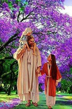Jesus Is Risen, Jesus Loves Us, Jesus Is Lord, Lds Pictures, Jesus Pictures, Lds Faith Quotes, Holy Quotes, Image Jesus, Jesus E Maria
