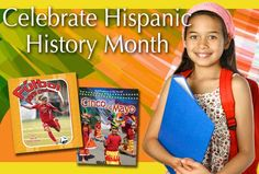 Hispanic History Month resources from Crabtree Publishing