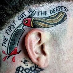 Parrucchiere Tatuaggi Per Gli Uomini…