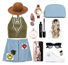 """School's Out"" by jlorenz on Polyvore featuring New Look, Chicnova Fashion, Versus, RHYTHM, Casetify, Big Bud Press, Valley Cruise Press, Chanel, Marc Jacobs and MICHAEL Michael Kors"