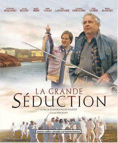 La grande séduction; comédia dramática; 2003; legenda em francês; 109 min