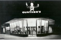 Gunther's Ice-Cream Parlor - an old fashioned ice-cream experience with recipes from the 1940's!