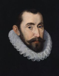 John de Critz the Elder: Sir Francis Walsingham, 'spymaster' to Queen Elizabeth, c. 1587. Oil on panel. National Portrait Gallery, London.