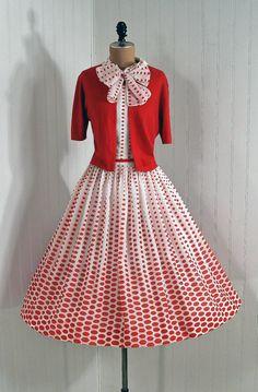 e7175df794 1950's Vintage L'Aiglon DesignerCouture by TimelessVixenVintage 1950 Es  Évek Divatja, Vintage Divat,