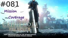 [#081] Final Fantasy VII: Crisis Core (PSP) Gameplay by Taronia Gamenstein
