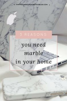 Jump on the bandwagon of this latest and greatest trend of the season -- white marble. Find out why you need to be including it in your home decor ASAP by clicking through!