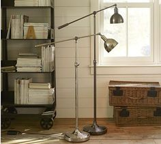 Cole Task Floor Lamp #potterybarn