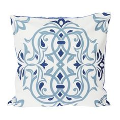 Le Atelier Ethnic Batik5 Blue Cushion Cover Blue Cushion Covers, Blue Cushions, Tapestry, Throw Pillows, Ethnic, Furniture, Home Decor, Atelier, Hanging Tapestry