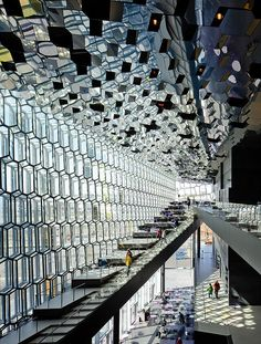 'Harpa Concert Hall and Conference Center', Reykjavik, Iceland  Henning Larsen + Olafur Eliasson
