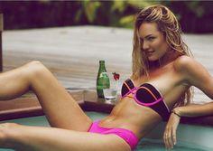 52c132bc5 Candice Swanepoel (Foto  Reprodução  Instagram) Moda Praia