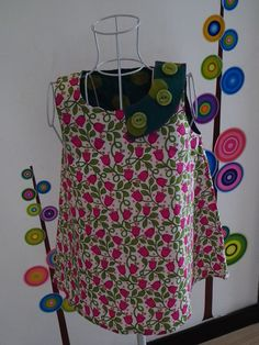 7e6a5e3b143cd Robe blouse tunique courte en velours cotelé manches 3 4   Mode ...