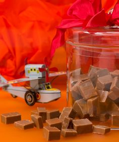 Καραμέλες με σοκολάτα γάλακτος Ice Cream Cookies, Brownie Bar, Greek Recipes, No Bake Cake, Fun Desserts, Truffles, Fudge, Nutella, Oreo