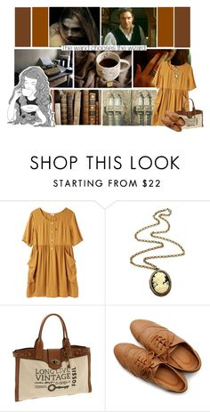 """Stretches out like branches of a poplar tree, she says, I'm free..."" by whimsicalgarden ❤ liked on Polyvore featuring GE, Steven Alan, Cameo, FOSSIL and Ollio"