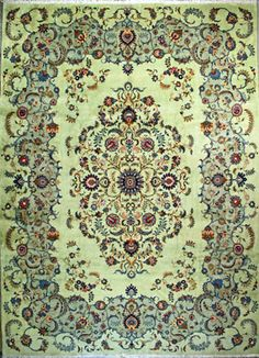 Authentic Persian Rugs Kashan Iran   $7,460.00