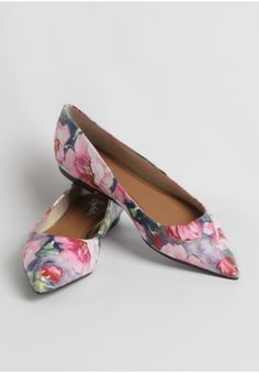 Well Known Floral Flats By Seychelles | Modern Vintage Flats | Modern Vintage Shoes | Ruche