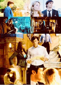 Clark Kent (Tom Welling) and Lois Lane (Erica Durance) in Smallville. Watched a few scenes of this show on YouTube today and I just don't even...(*wrings hands and sobs with OTP happiness*)