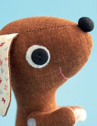 How to Sew a Puppy Dog Doll at WomansDay.com - Free Craft Ideas - Woman's Day