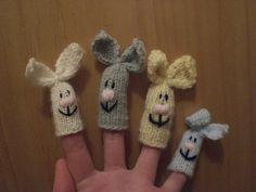 Finger+Knitting+Patterns | anna knits, etc.: knitting, etc. - knit finger puppets