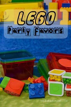 LEGO Party Favors | http://horriblehousewife.com/2016/03/lego-party-favors/