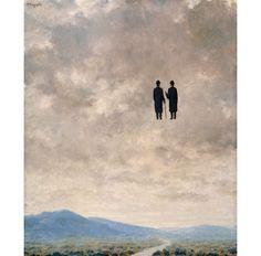 VIsto Museo Thyssen 23/10/13 El arte de la conversación  René Magritte 1963