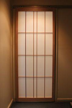 Shoji sliding door (2340mm high) by hisazendesigns on Etsy