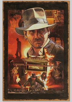 Raiders of the Lost Ark - Lobby poster artwork by MarkRaats