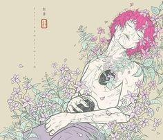 grafika sasori, akatsuki, and naruto