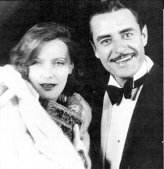 Greta Garbo and John Gilbert -  Her most famous romance was with her frequent co-star, John Gilbert, with whom she lived intermittently in 1926 and 1927