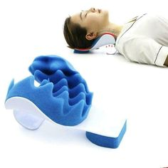 Neck And Shoulder Relaxer Pillow Pain Relief Cervical Supporter Spine O0K5 #Unbranded Shoulder Pain Relief, Neck And Shoulder Pain, Neck Pain, Neck Support Pillow, Support Pillows, Foam Pillows, Bed Pillows, Contour Pillow, Pillow Reviews