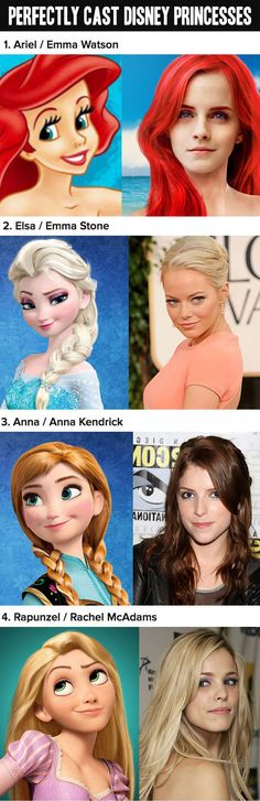 Amanda Seyfried will always be my Rapunzel, (and I liked the Karen Gillan Ariel I saw once, but Emma could do it as well, I suppose) but the other two are kind of perfect. I'm now obsessed with Anna as Anna.