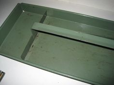 Vintage Industrial Metal Tool Caddy/Tray by FriedasAttic on Etsy